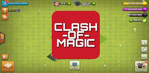 Лого приватного сервера Clash of Magic