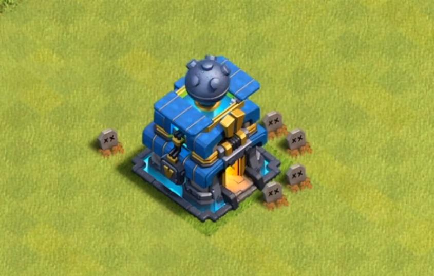 новая ратуша в Clash of Clans