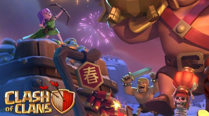 Китайский новый год в COC